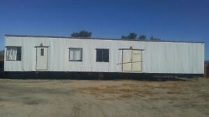 14 X 60 Mobile Office Trailer Mobile Home Shelter Storage Unit With Hvac