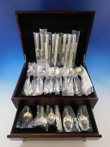 Candlelight By Towle Sterling Silver Flatware Set For 8 Service 38 Pieces New