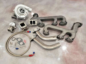 Gm 4 3l Turbo Kit Hot Parts T3 Cast 4 3 Gmc Chevy Turbocharger V6 Wastegate Oil