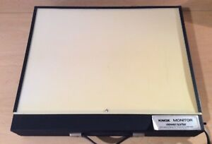 B knox 18 X 12 Portable X ray Monitor Viewer Light Box Still Picture Projector