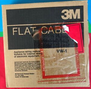 3m 3625 10 30m Flat Cable 28awg Str Appliance Wiring Material Pitch 0394