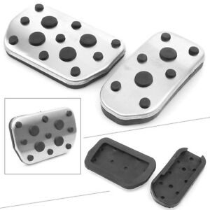 At Foot Brake Gas Fuel Pedal Cover For Toyota Corolla Rav4 Levin 2pcs Auto