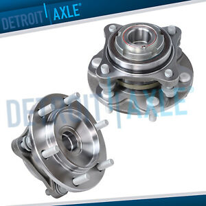 Front Wheel Bearing Hub Pair For 2005 2015 Toyota 4runner Tacoma 2wd Prerunner