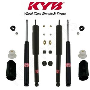 For Mazda Rx 7 Front Rear Strut Cartridges With Shock Absorbers Bellows Kyb