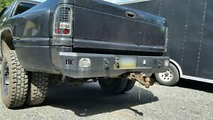 Dodge Ram 2500 3500 Rear Bumper Diy Weld Up Kit 1994 2001 2nd Gen Hardcore