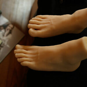 Silicone Reality Casting Leg Modeling Handsome Mannequin Male Bigfoot Simulation