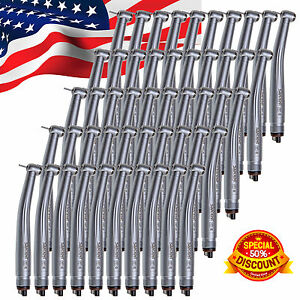Us Stock 50pcs Dental High Speed Handpieces F Nsk Clean Head 4holes Spray Stm4