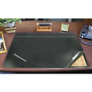 Artistic Hide away Pvc Desk Pad 31 X 20 Black 030615852046
