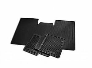 2010 2012 Ford F 150 All Weather Vinyl Floor Mats Black 3 Pc Supercrew