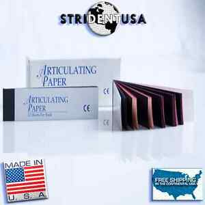Articulating Paper Red Blue Combo 144 Sheets Made In Usa