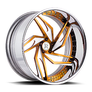 22 Custom Forged Wheels 2 Piece Standard 4 Set Rucci Asanti Dub Amani Rims