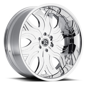 26 Custom Forged Wheels 2 Piece Standard 4 Set Rucci Asanti Dub Amani Rims