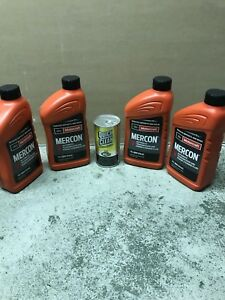 Ford Motorcraft Mercon V Transmission Fluid Xt 5 Qmc 3 Quarts Ford And Lincoln