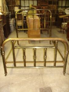 Antique Brass Bed Full Size Greenpoint Sanitary