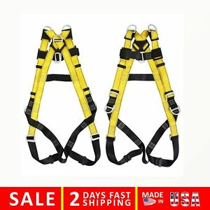 Xben 5 D ring Industrial Fall Protection Safety Harness Full Body Personal