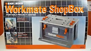 Black & Decker Workmate ShopBox - Portable Project Center SB225 New in Box