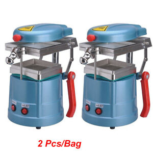 2pcs bag Dental Vacuum Forming Molding Machine Former Heat Thermoforming Tools