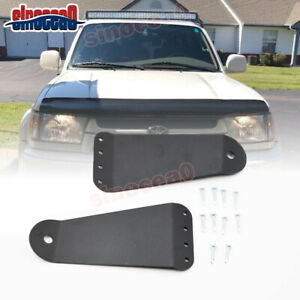 For 95 04 Toyota Tacoma 42 Inch Straight Curved Led Light Bar Roof Mount Bracket