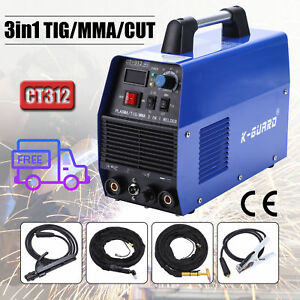 Ct312 110v Tig Arc Welder Plasma Cutter 3in1 Welding Machine Accessories