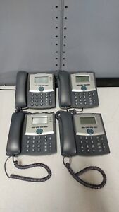 Lot Of 4 Cisco Spa303 Ip 3 line Business Office Phones No Stands Or Psu