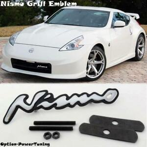 New Metal 3d Nissan Nismo Emblem Alloy Car Logo Front Grill Badge Usa