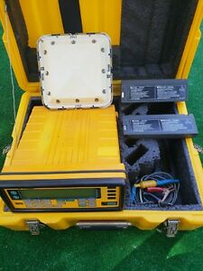 Used Trimble Navigation Communication Receiver 4000ssi r With Case Cables Nr
