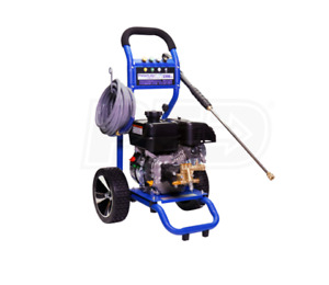 Cold Water Gas Powered Power Washer Pressure Pro 3200 Psi 2 5 Gpm