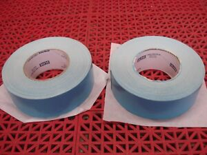 Lot Of 2 Uline Double Sided Carpet Tape Blue 2 X 36yd S 12921 Duct Tape New