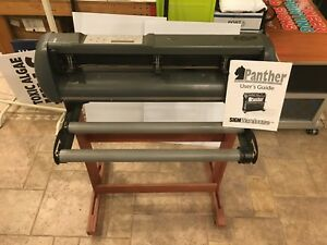 Gcc Jaguar J2 61 24 Proffesional Vinyl Cutter Plotter W Wood Stand Works Great