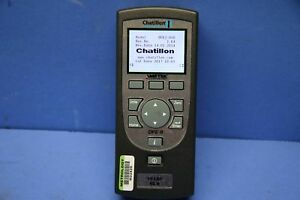 Used Chatillon Dfe2 010 Digital Force Gauge 500 X 0 1 Lbf 17642