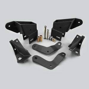 1987 2001 Jeep Cherokee Xj Control Arm Drop Kit Bracket For 4 8 Lift Kit