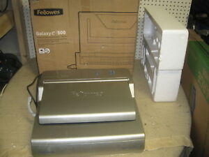 Fellowes Galaxy E Wire Office Wire Binder Crc52183 Box Business Binding Machine