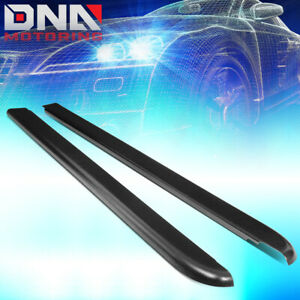 For 1994 2004 Chevy S10 6ft Fleetside Pair Truck Bed Side Rail Molding Cover Cap