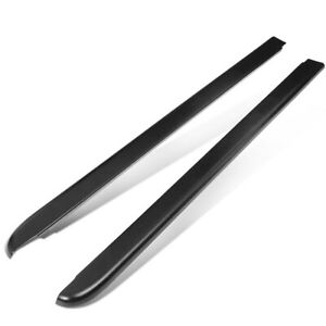 Fit 94 04 Chevy S10 6ft Fleetside Pair Truck Bed Side Rail Molding Cap Protector