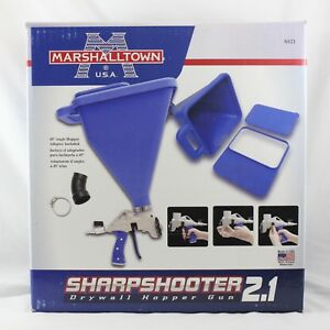 Marshalltown Sharpshooter 2 1 Drywall Hopper Gun Ss21 Brand New