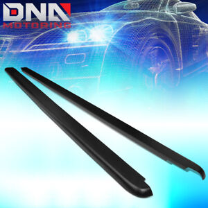 For 2002 2009 Dodge Ram 6 5ft Fleetside Truck Bed Side Rail Molding Cover Caps