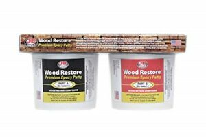 J b Weld 40007 Wood Restore Premium Epoxy Putty Kit 64 Oz