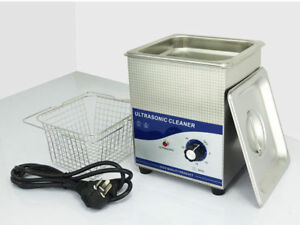2l Ultrasonic Cleaner Solution Bath Wash Parts Tools Cutter Jewelry Dental 220v