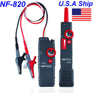 Usa Ship High Low Voltage Nf 820 Wire Tracker Underground Cable Wire Locator