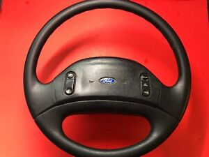 1992 1997 Ford F 250 F 350 Steering Wheel Rubber Cruise Equipped Used Oem