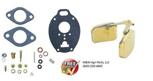 Carburetor Kit Float Massey Ferguson Mf 65 150 165 175 180 303 3165 Tractor