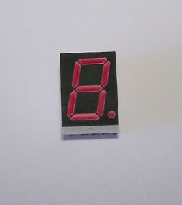 100 Pcs Hdsp h211 7 segment Common Anode Red Led Display By Avago 5d2a