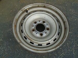 Chevy Truck Van 15x6 5 5 Lug Rally Wheel Rim Oem