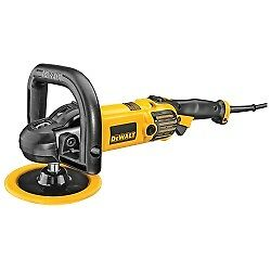 Dewalt Dwp849x 7 inch 9 inch Variable Speed Polisher With Soft Start