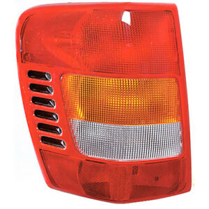 Fits 99 02 Jeep Grand Cherokee Left Driver Side Tail Light W Circuit Board