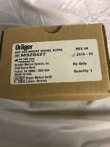 Drager Draeger Ms20427 Acc Mount Swivel Alpha Brand New