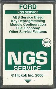 Ford Ngs Obd2 Service 1994 To 2004 Green Card