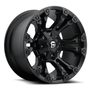 4 New 17x9 12 Fuel D560 Vapor Matte Black 8x6 5 Wheels Rims