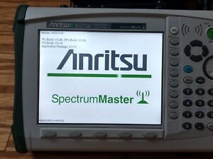Anritsu Spectrum Master Ms2724c 9 Khz To 20 Ghz Spectrum Analyzer Emi