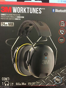 Wireless Bluetooth Noise Cancelling Hearing Protector Headphones 3m Worktunes